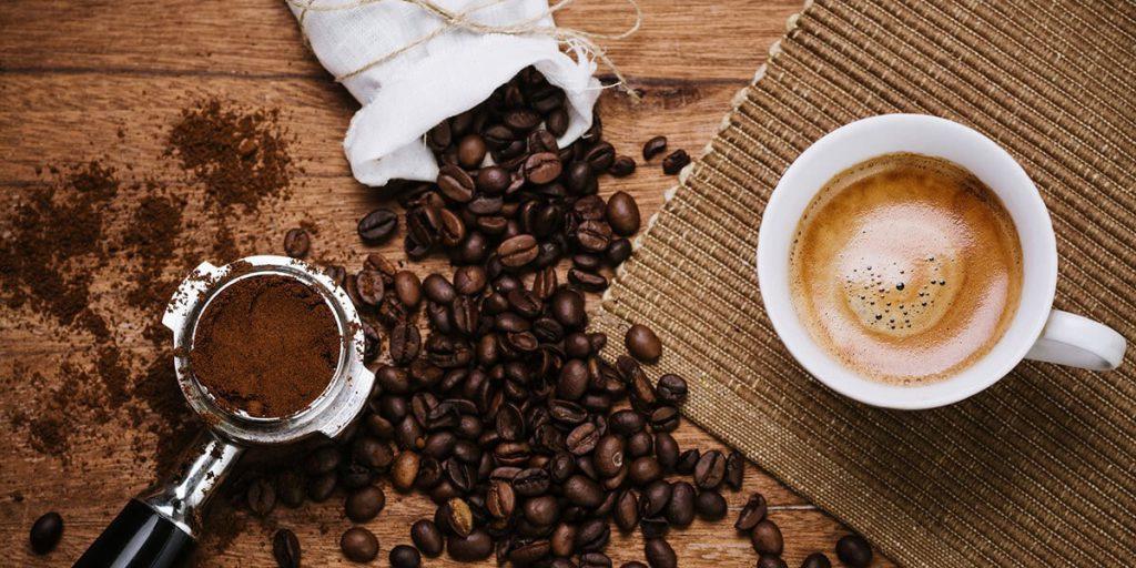 قهوه کافئین دار